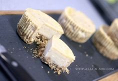 Peanut Butter and Banana Cheesecake Recipe by www.alli-n-son.com by Alli 'n Son, via Flickr
