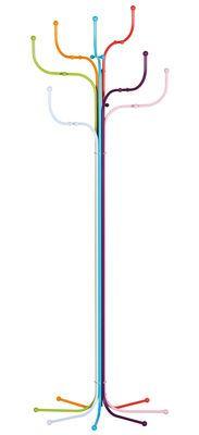 Coat Tree, #multicolored #steel #painted_steel #hanger, by Sidse Werner, at Fritz Hansen (fritzhansen.com)