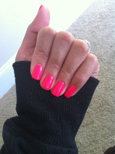 Can't go wrong with a neon pink
