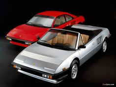 Ferrari Mondial Coupe and Cabriolet