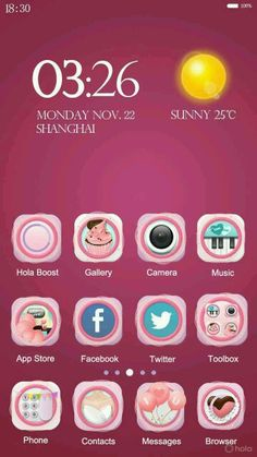 Cute Themes, App Store, Android, Anniversary, Messages, Phone, Fonts, Google Play, High Definition