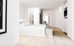 This is my absolute favourite floor in the world. A private residence in Denmark with Dinesen Douglas fir floors.