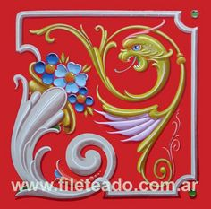 https://flic.kr/p/77aWx6 | DRAGÓN CUADRADO | Measure 30 x 30 cm Descript. Synthetic enamel over harboard- U$S 280.- -VENDIDO-