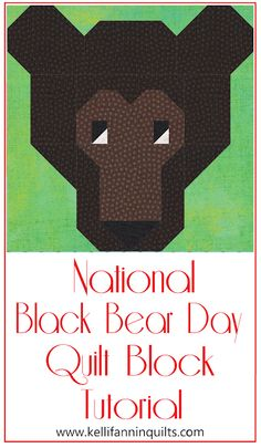 Pattern Blocks, Block Patterns, Finally Happy, My Kind Of Love, National Days, Eye Roll, Fb Page, Black Bear, Free Sewing