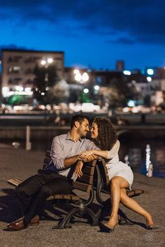 Rowell Photography Romantic Night time Engagement in Barrie, Canada