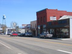 Yup, this is main street of good ol' Kuna Idaho.  The place I call home.