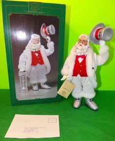 "Retired Kurt Adler Fabriche ""Countdown Santa"" Santa Claus Millennium 2000 | eBay"