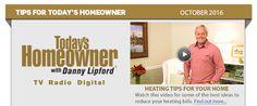 September 2016 Tips for Today's Homeowner