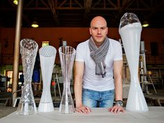 Crystal trophy for  the Tour de France - 2013 - usseglio prinsi eleonora   Peter Olah is the artist
