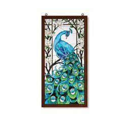 Peacock, Wall and Door Decor, Home Decor.