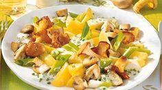 Rahm-Kartoffeln mit Pilzen