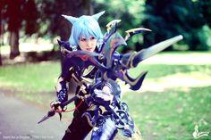FFXIV Dragoon Cosplay - Evil-Siren by Evil-Siren.deviantart.com on @DeviantArt