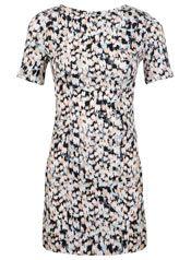 Petites Print T Shirt Dress