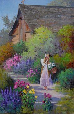 inspirationofelves: Jardin par le Cabanon par rooze23