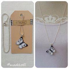 Een persoonlijke favoriet uit mijn Etsy shop https://www.etsy.com/nl/listing/478768915/butterfly-necklace-handmade-pendant-on-a