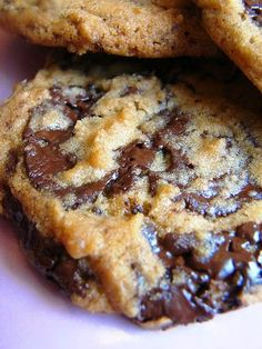 My FAVORITE Chocolate Chip Cookie -- Jacques Torres' Secret Chocolate Chip Cookie - they turned out spectacular, the BEST chocolate cookies EVER..!