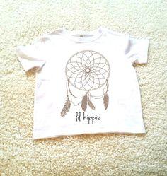 Dream catcher lil hippie Children's Toddler Tshirt. by StarrJoy16