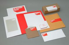 The California Project Stationery - Nice colour pallet and simple bold design. #nice #graphicdesign #stationery