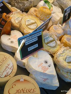 Cheese from the Challans market