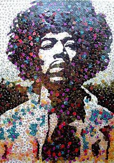 Hendrix mosaic