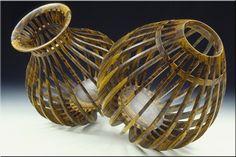 Mark Nantz, wood cage series, Bocote