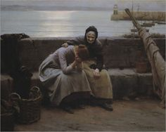 Never Morning Wore to Evening But Some Heart Did Break - Walter Langley-1882