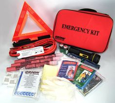Orion Safety Products 8901 Deluxe Roadside Emergency Kit (4 Pack) Features.Great to have in your trunk for any type of emergency...Learn More