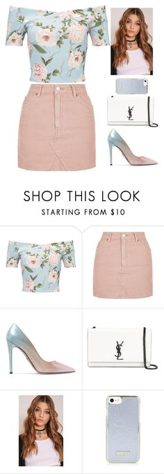 """Untitled #643"" by larii-marii1d on Polyvore featuring Miss Selfridge, Topshop, Prada and Yves Saint Laurent"