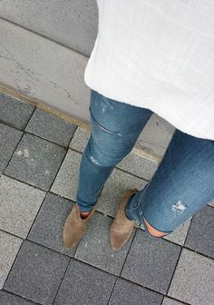 Distressed & booties