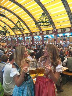 oktoberfest prost in Munich, Germany Oktoberfest Outfit, Oktoberfest Party, Oktoberfest Hairstyle, Munich Oktoberfest, German Oktoberfest, Beer Girl, German Women, German Girls, Munich