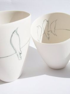 Underglaze pencil?  Seriously, I want one of these!