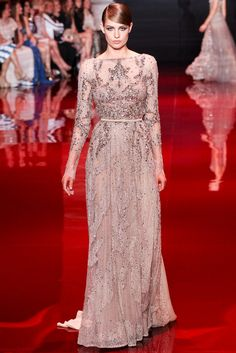 Elie Saab Fall 2013 Couture Fashion Show - Nadja Bender (OUI)