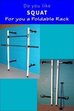 diy folding squat rack  garage  at home gym diy gym