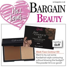 **BARGAIN BEAUTY ALERT** Want to try out some Kardashian-style contouring without blowing the budget? This powder kit is so good! #bargainbeauty #no1magazine #superdrug #makeup #contouring #beauty