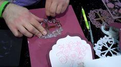 Heartfelt Creations Stamps & Coordinating Spellbinders Die Card