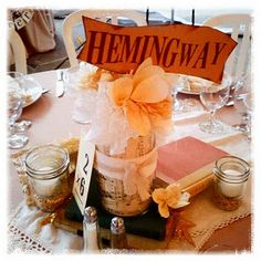 Hemingway table