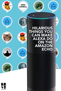 amazing Hilarious Things You Can Make Alexa Do When You're Bored AF - Wtechno Amazon Echo Tips, Amazon Hacks, Alexa Dot, Alexa Echo, Funny Alexa Commands, Alexa Tricks, Dot Hack, Amazon Alexa Skills, Bluetooth