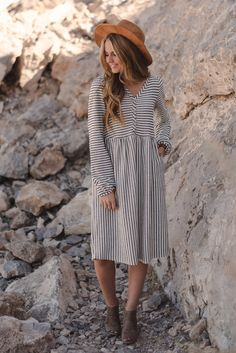 i love the neckline on this, its super feminine and the waistline i think would hit you just right....long flattering sleeves