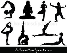 Yoga Clip Art Pack