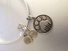 Alex and Ani paw bracelet