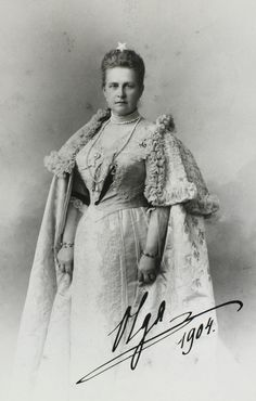Queen Olga of Greece   1906