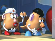 *MRS. & MR. POTATO HEAD ~ Toy Story