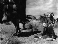 Henry Fonda in FORT APACHE (1948). Directed by John Ford.