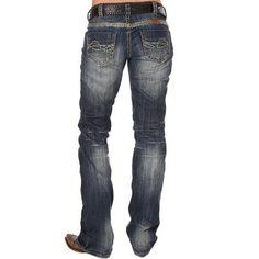 Women's Cowgirl Tuff Trailblazer Boot Cut Jeans