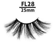 f1fe0fbf723 Fl28 Wholesale 25mm Individual Faux Mink Eyelashes With Round Rose Gold  Packing - Buy Faux Mink