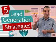 5 Low Budget B2B Lead Generation Strategies - YouTube Lead Nurturing, Web Research, Blurb Book, Book Trailers, Brand Promotion, Book Design Layout, Competitor Analysis, Lead Generation, Company Names