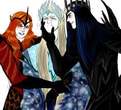 Mairon, Manwë and Melkor