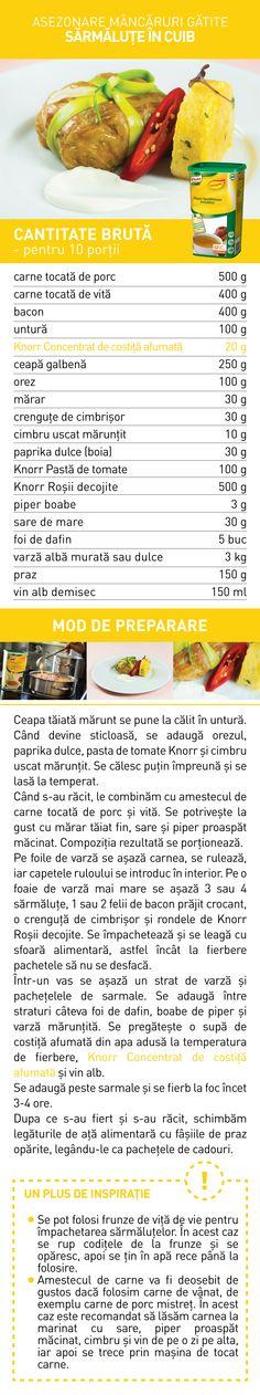 Asezonare mancaruri gatite (II) - RETETE Food, Essen, Meals, Yemek, Eten