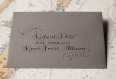 Travel-Inspired Letterpress Wedding Invitations by Sarah Drake via Oh So Beautiful Paper (6)