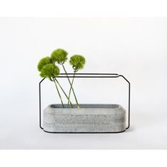 WEIGHT Concrete Vase A - Natural